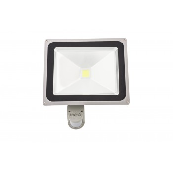 Led floodlight with PIR