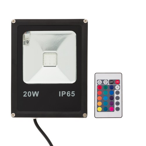 LED FLOODLIGHT RGB 20W